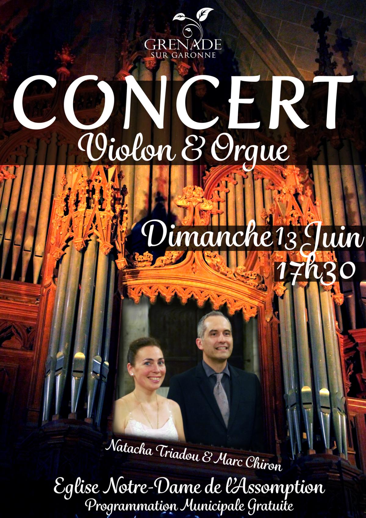Concert Violon & Orgue