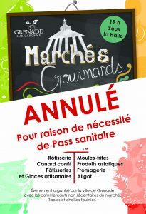 Marchés Gourmands - ANNULE