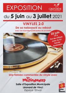 Exposition VINYLES 2.0 @ Bibliothèque municipale Saint Exupéry | Paris | Île-de-France | France
