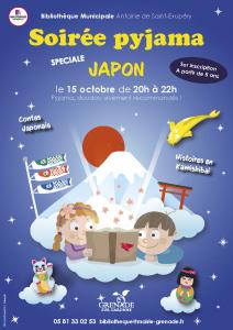 Soirée Pyjama spéciale Japon @ Bibliothèque municipale Saint Exupéry | Grenade | Occitanie | France